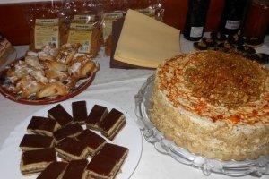 Diós sütemények a