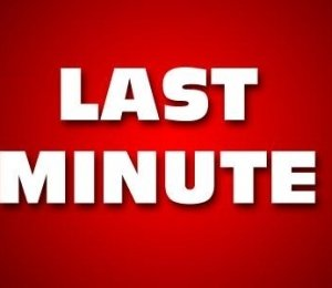 Last minute akció