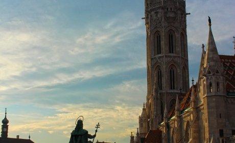 camere Budapest, il quartiere medievale (passeggiata) e il Palazzo Reale