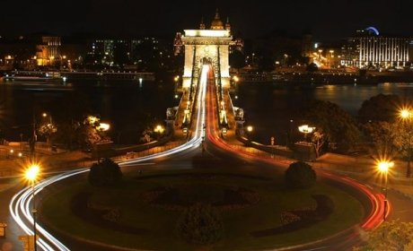 Kettenbrücke in Budapest, Hotelzimmer