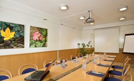 conference room for private company reunions, training events