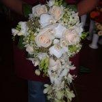 Nyújtott menyasszonyi csokor