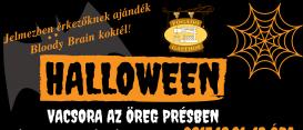 Halloween vacsi az Öreg Présben