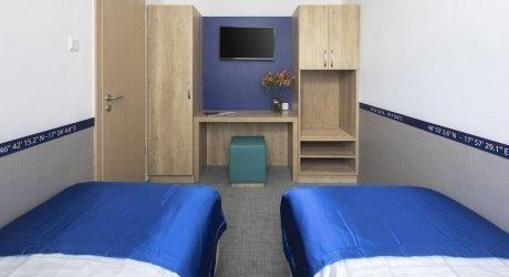 2+2 ágyas szoba