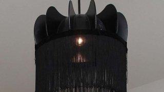 A kerékből készült lámpa