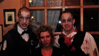 Halloween parti
