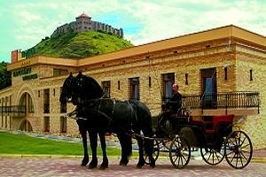 Lovaskocsikázás Sümeg történelmi Belvárosában