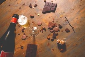 Csokoládé és borkóstoló