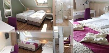 Teljesen felújított szobák