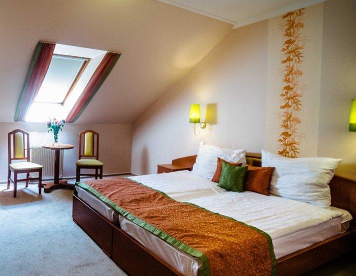 Aqua- Lux Wellness Hotel szobái