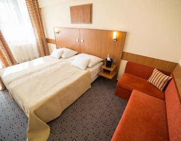 Double room with extrabed