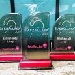 A szálloda díjai