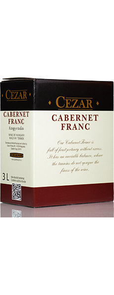 Cabernet Franc 2017 3l - Bag in box