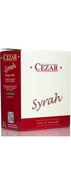 Syrah 2017 3l - Bag in box