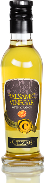 White balm vinegar - with orange