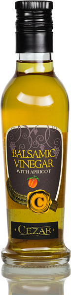 White balm vinegar - with apricot