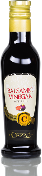 Red balm vinegar - with fig