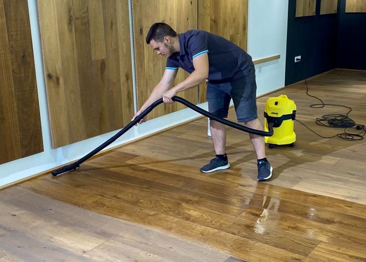 Maintenance of EDELHOLZ premium wooden flooring
