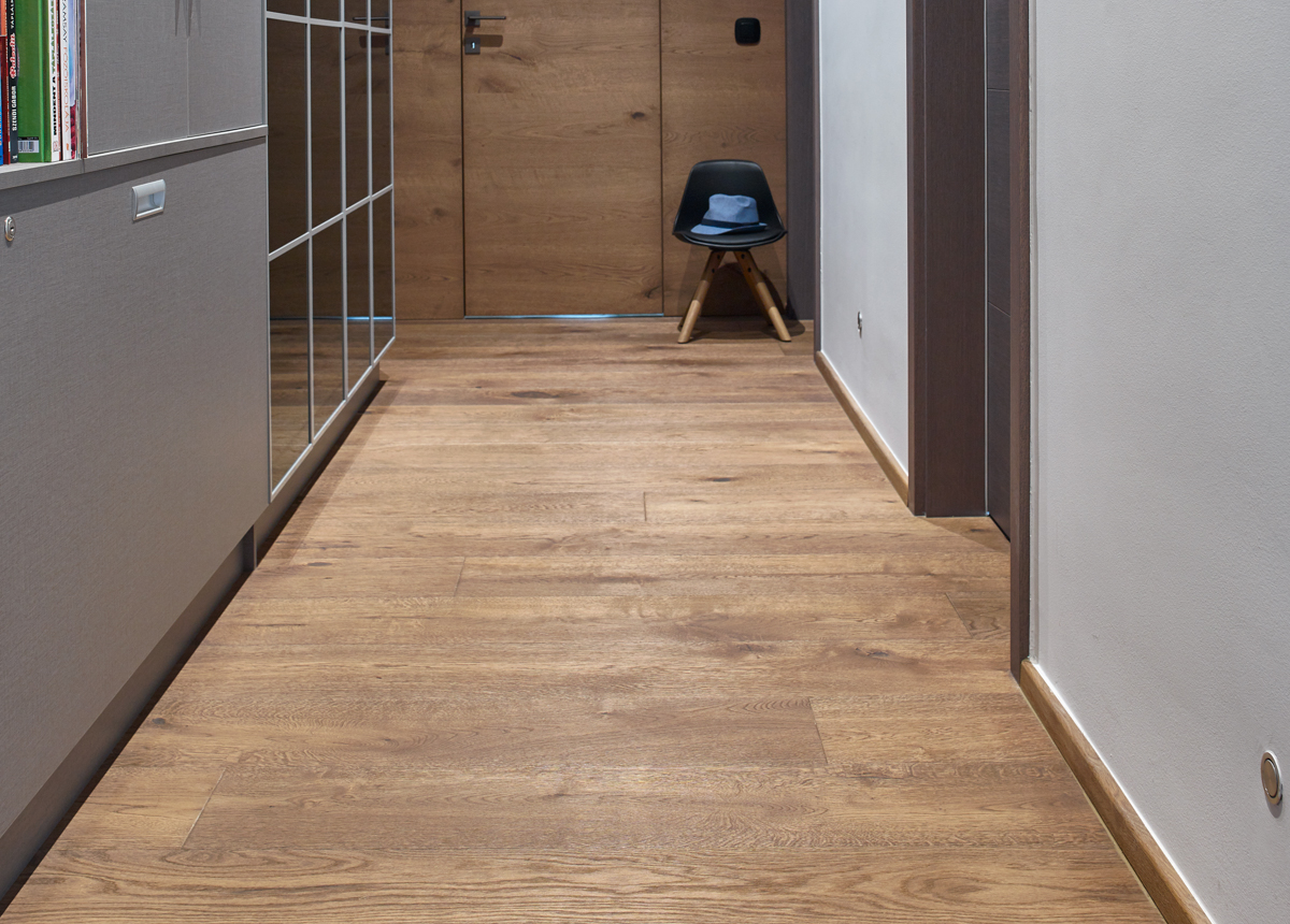 EDELHOLZ 3D Limestone Nature premium smoked hardwood flooring