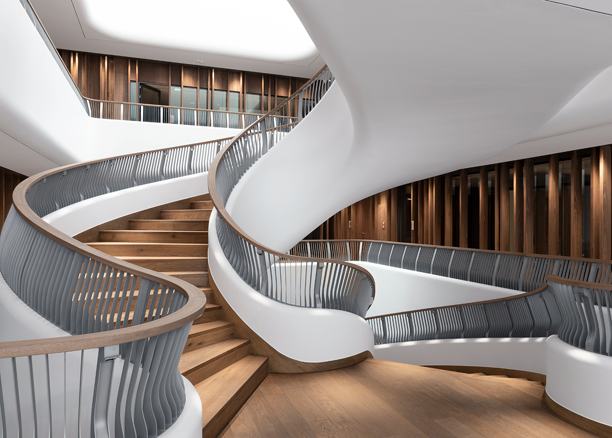 EDELHOLZ unique stairs solution Swiss Weiss smoked