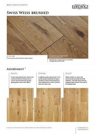 Swiss Weiss Straight plank