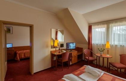 Erzsébet Park Hotel - Zsuzsanna-szárnyi kétlégterű apartman