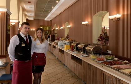Erzsébet Park Hotel - Étterem