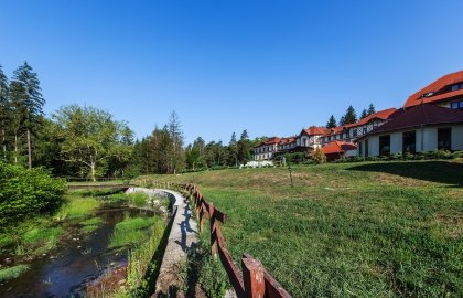 Erzsebet Park Hotel-Patakpart