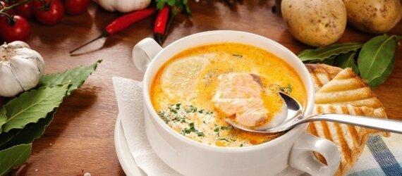 Suppe zum Mittagessen