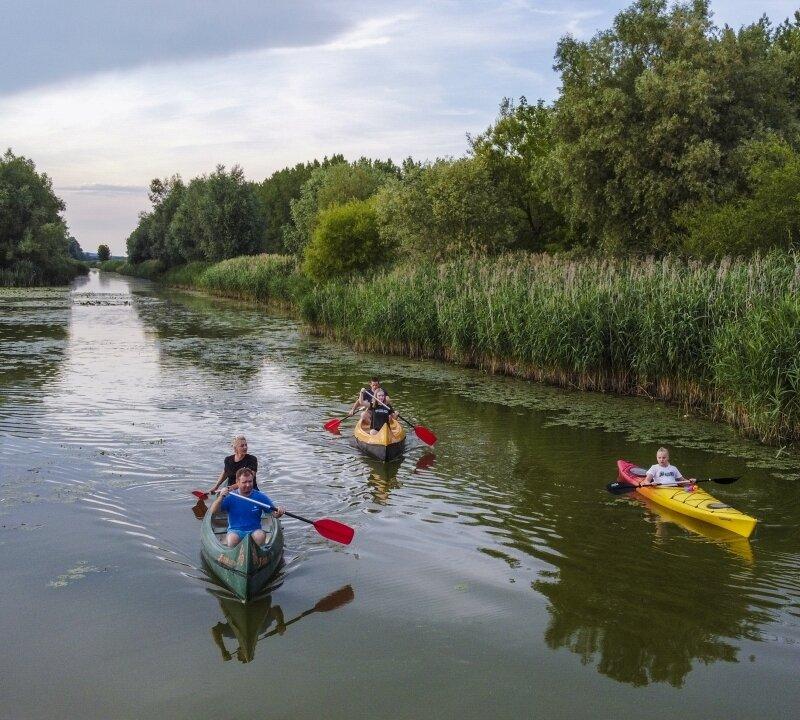 Kenuzás a Zala folyón