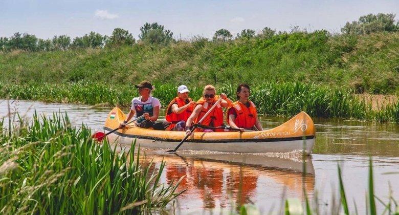 Canoeing on the river Zala (seasonal)