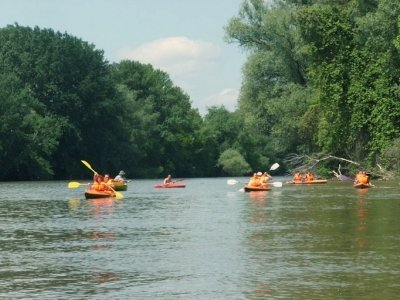 Kayaking On the river Maros