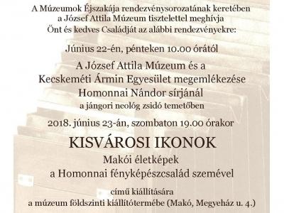 Kisvárosi ikonok - Makói életképek a Homonnai fényképészcsalád szemével