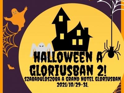 Halloweeni szabaduló szoba a Gloriusban!