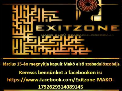 Exitzone - Makó első szabadulószobája