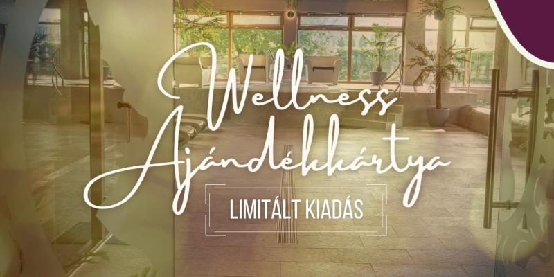 Limitált wellness ajándékkártya