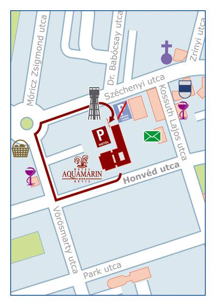Parkoló térkép