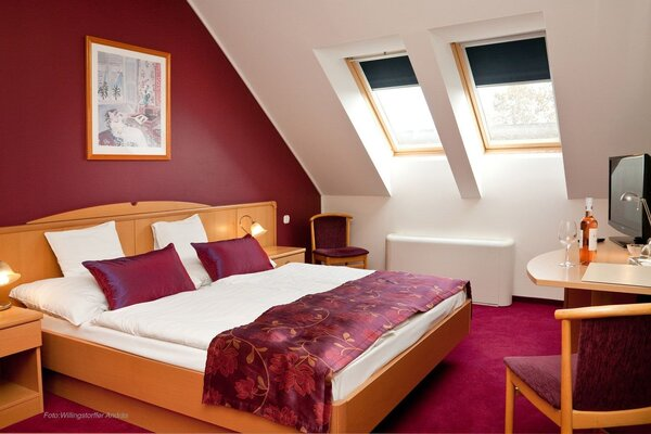 Double room in the 3-star building