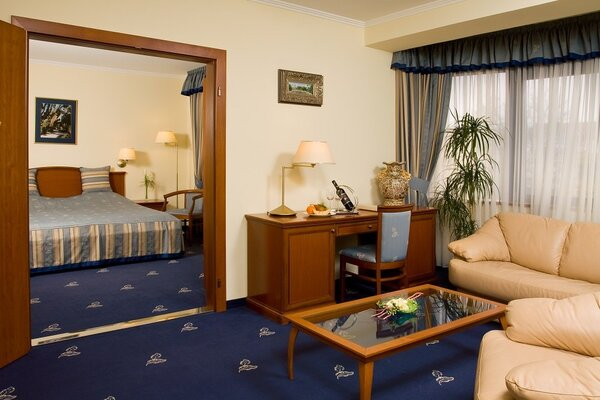 Suite in the four-star building