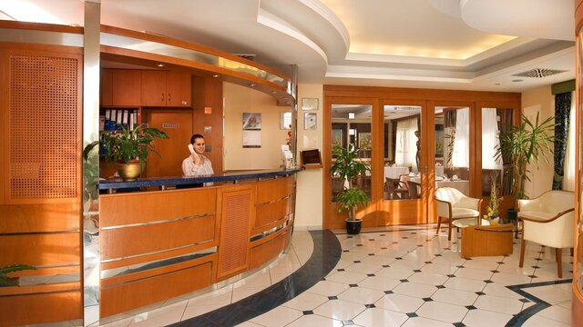 Hotel Kálvária Recepció