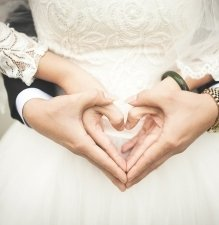 Családias esküvő