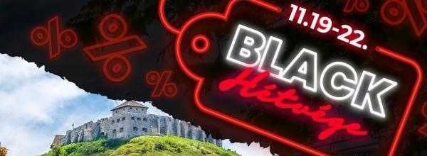 Black Friday 2020 a Hotel Kapitány Wellness****superior-ban