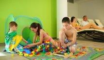Wellness játszósarok, családi nyaralás Balatonfüreden