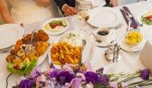 Esküvői menü, Hotel Margaréta Balatonfüred