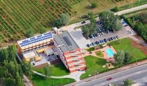 From a plane / wellness and conference hotel at Lake Balaton