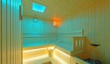 Kikapcsolódás, wellness pihenés a finn szaunálban. Hotel Margaréta Balatonfüred