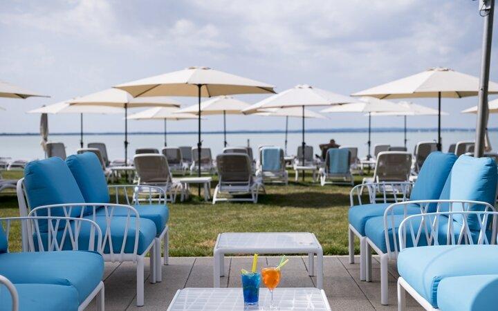 Beach bár a Hotel Marina-Portban
