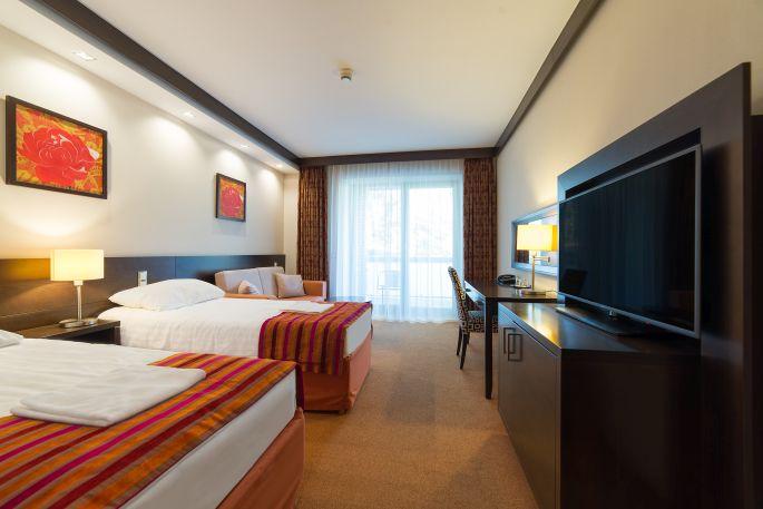 Akadálymentesített szoba a Hotel Pagonyban