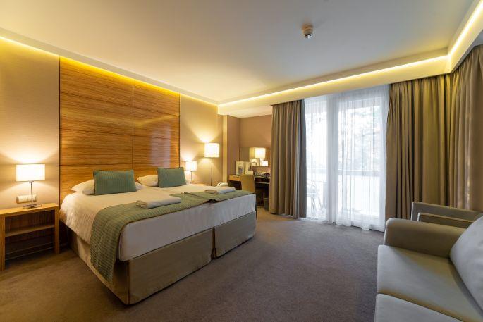 Deluxe szoba a Hotel Pagonyban