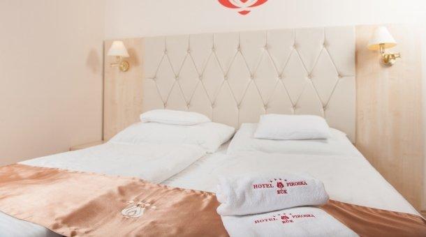 Kétágyas szobák